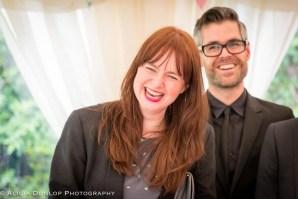Documentary wedding photographer Gloucestershire enjoying the day