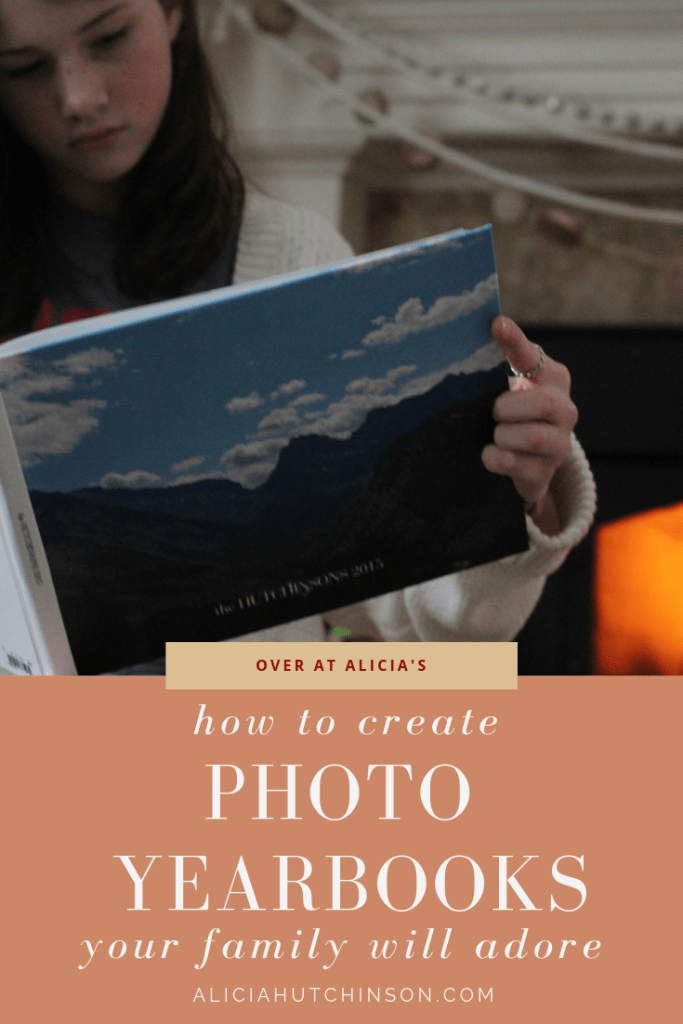How to create photo yearbooks that your family will adore!