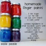 Make Your Own Finger Paint!
