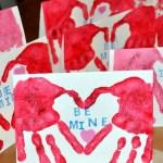 handmade Valentine ideas for children