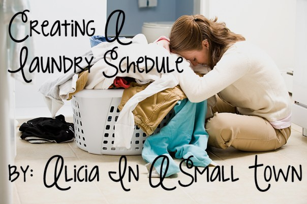 Creating A Laundry Schedule