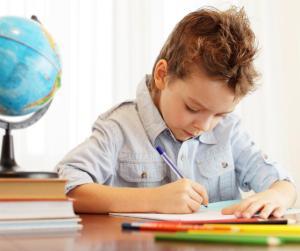 boy-doing-homework preparing kids for school