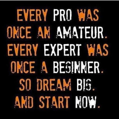 every pro was once an amateur dream big and start now marathon training
