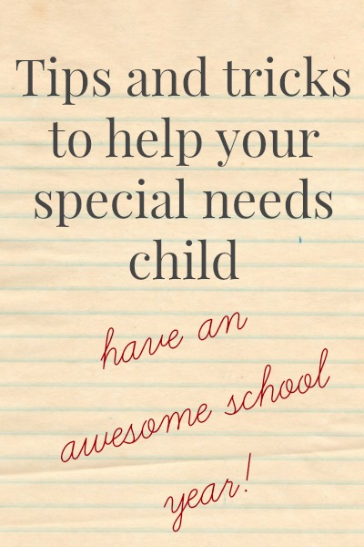 Back To School For The Special Needs Child