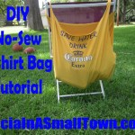 DIY No-Sew T-shirt Bag Tutorial