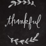 I Am Thankful For…