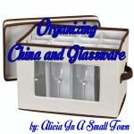 Organizing China and Glassware