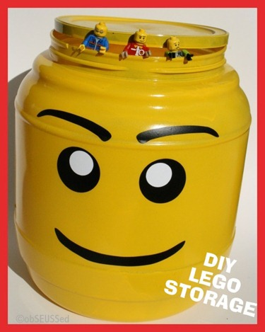 Lego Head Storage