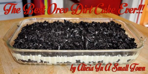 Oreo Dirt Cake 2