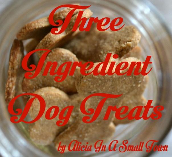 three ingredient dog treats 1