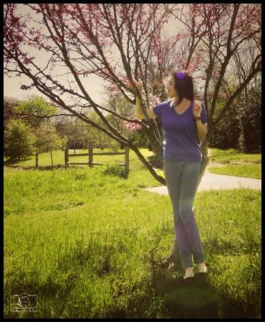 Miriam - Blanco - Redbud Tree - #2 - Sig - F