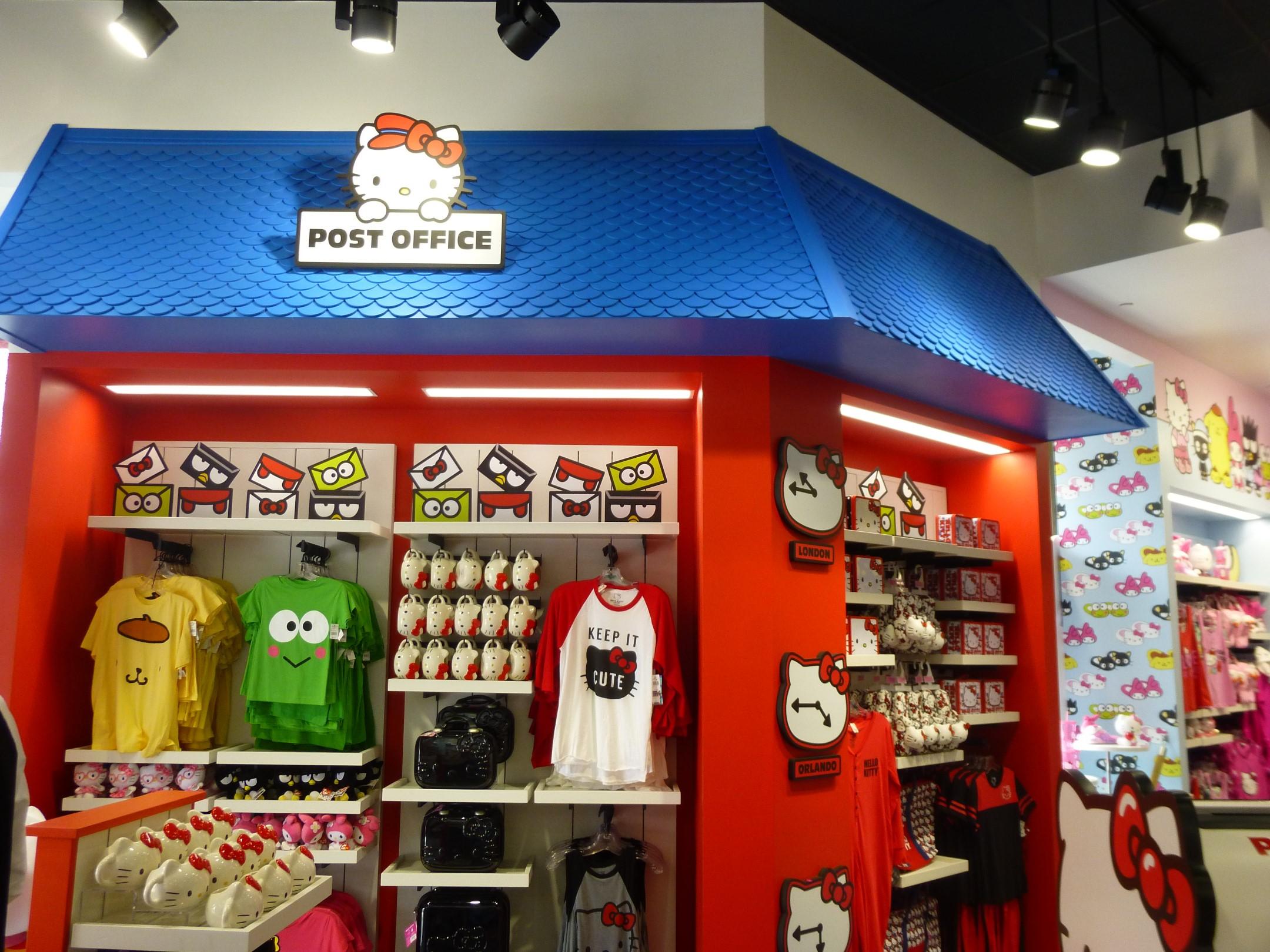 hello kitty store opens