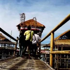 Jalan Menuju Gazebo di Mangrove Wonorejo 1