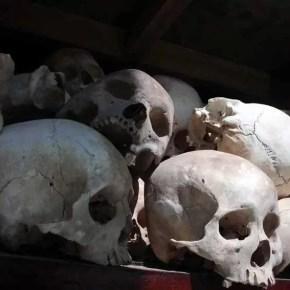 Khmer Skull in Choeung Ek