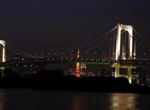 Rainbow Bridge Odaiba