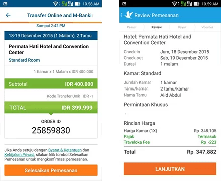 Traveloka vs Tiket 5