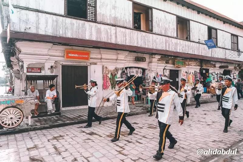Vigan City Calle Crisologo 9