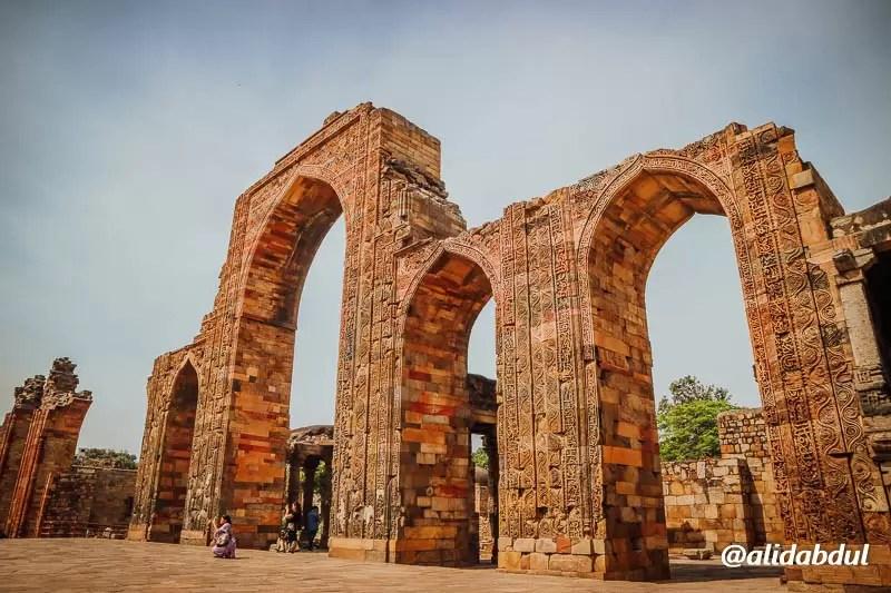 Qutub Minar Delhi India Alid Abdul 12