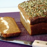 Layered Pumpkin Loaf