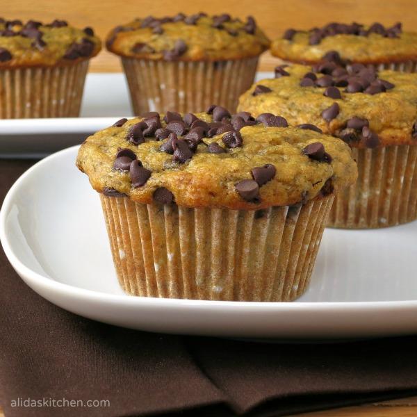 a healthy banana buttermilk muffin recipe