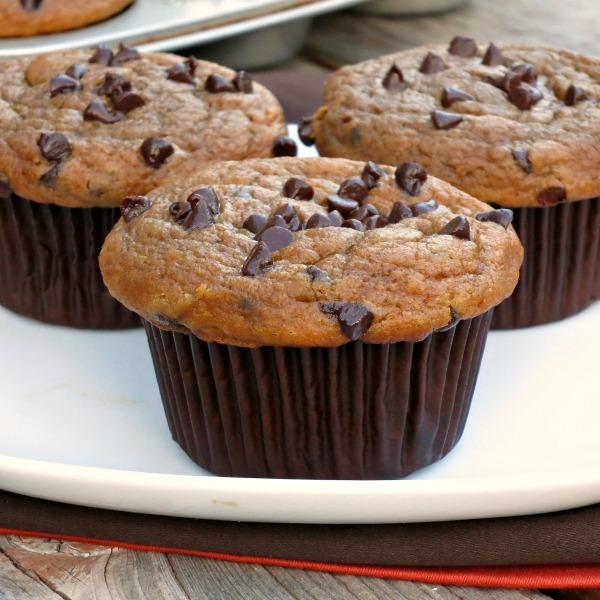 Pumpkin Chocolate Chip Muffins