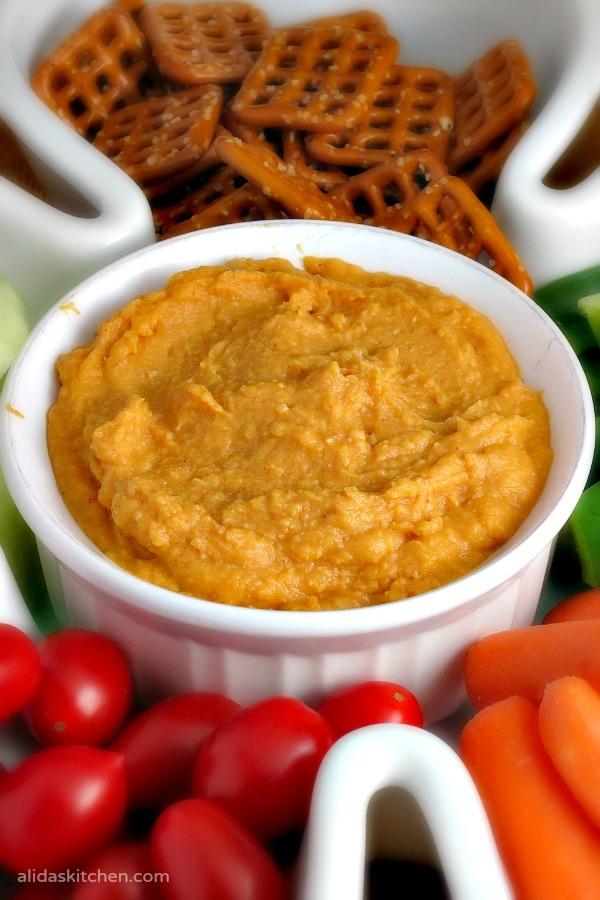 Sweet Potato Hummus | alidaskitchen.com