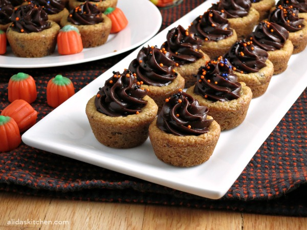 Pudding Cookie Cups from Alida's Kitchen