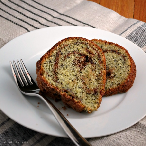 Poppy Seed Cake from Alida's Kitchen
