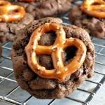 Chocolate Pretzel Cookies