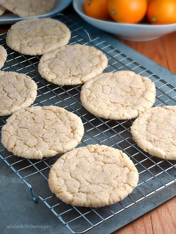 Chewy Lemon Sugar Cookies | alidakitchen.com #recipes #lemon #cookies #SundaySupper