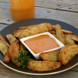 Buffalo Aioli | An easy recipe for aioli with a buffalo sauce twist!