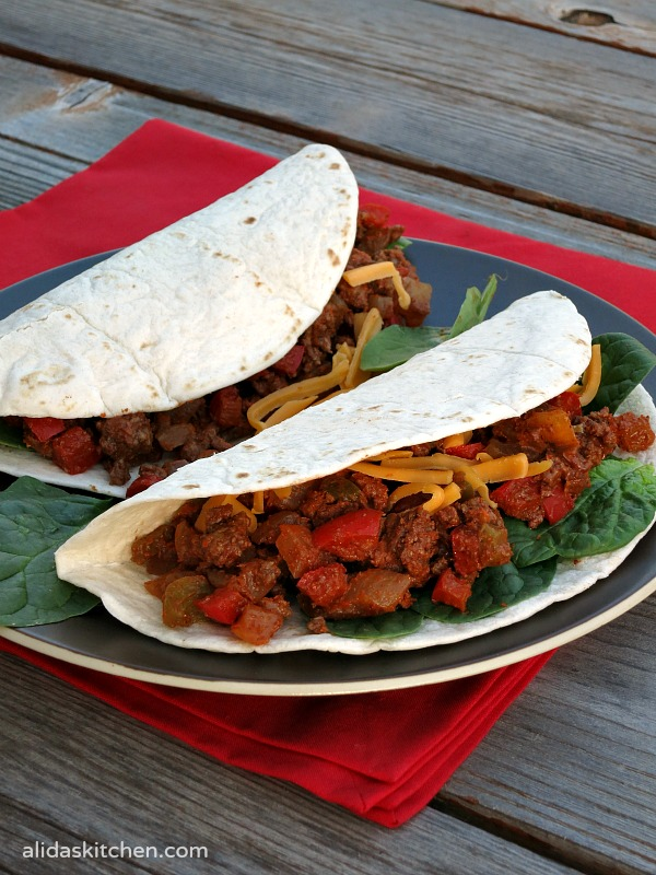 Lighter Chipotle Beef Tacos #SundaySupper #ChooseDreams