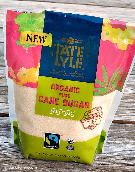 Tate+Lyle® Fairtrade Certified Sugars on Alida's Kitchen