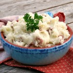 Olive Oil Mashed Potatoes #PantryInsiders