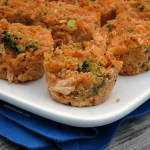 Buffalo Chicken Quinoa Bites | alidaskitchen.com #recipes #SundaySupper #tailgating #glutenfree