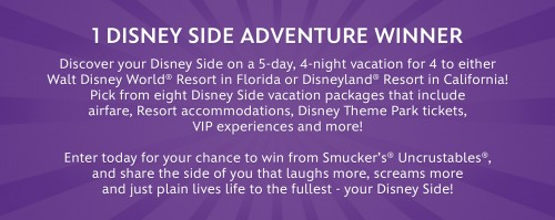 Enter to win a 5 day/4 night Disney vacation!