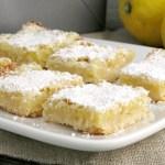 Grandma's Lemon Bars #SundaySupper