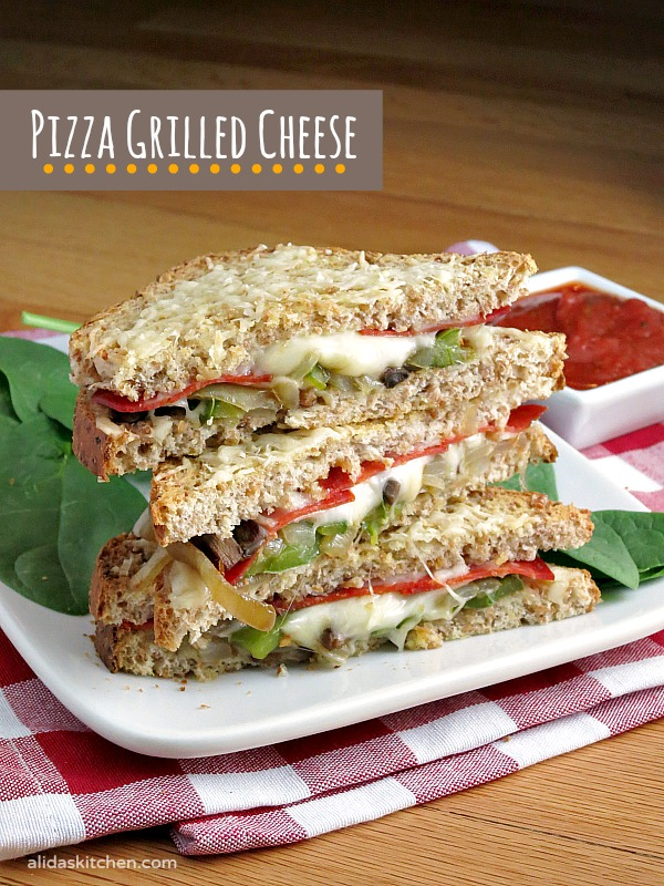 Pizza Grilled Cheese | alidaskitchen.com