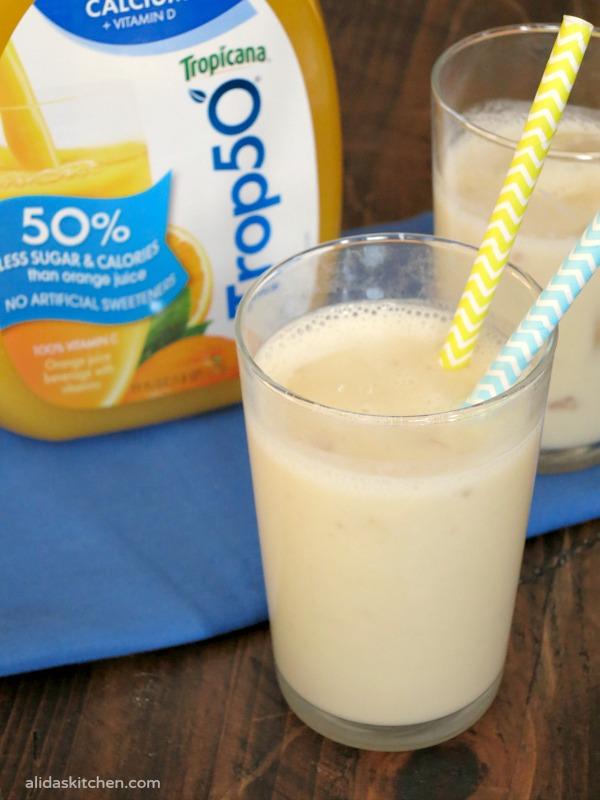Orange Banana Smoothie | alidaskitchen.com
