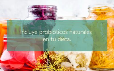 Incluye probióticos naturales en tu dieta