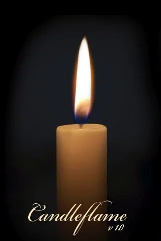 Candle flame IphoneApp