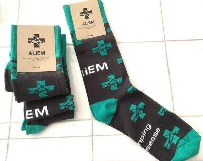 turquoise socks 2