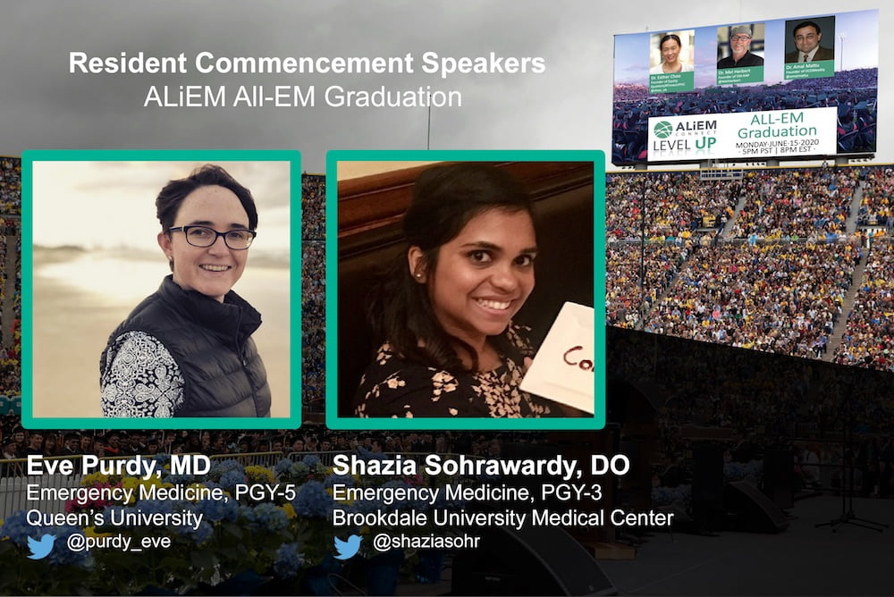 all-EM residency graduation emergency medicine