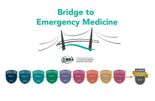 bridge to EM badges EMRA