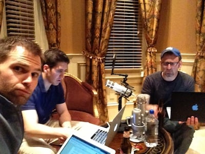 CF 2013 podcasting