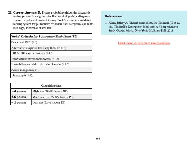 in-training exam prep book screenshot 4
