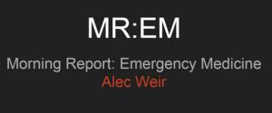 MREM Alec Weir