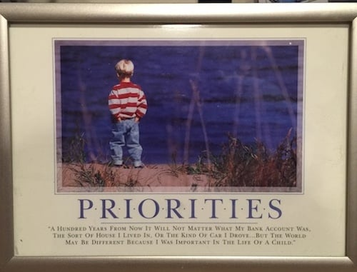 Priorities Picture