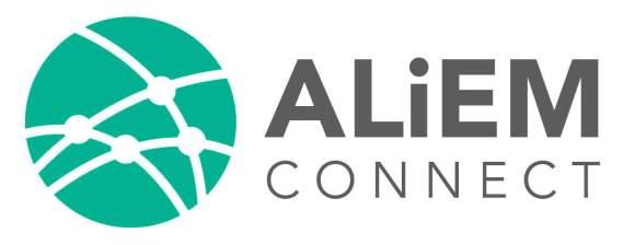 ALiEM Connect logo
