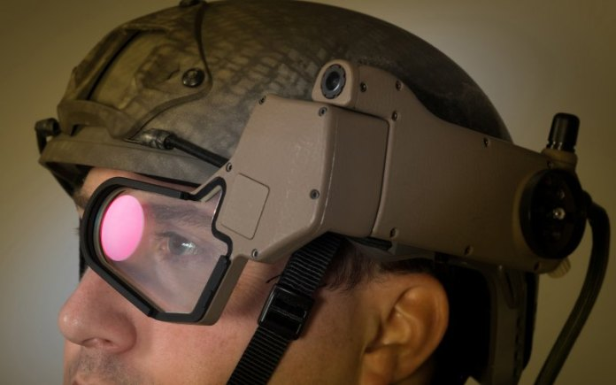Google Glass for Kids In High School Who Wear Military Jackets.